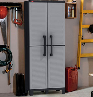 Keter Cheap Garage Storage Cabinet: Durable, Stylish and Lots of Storage Space