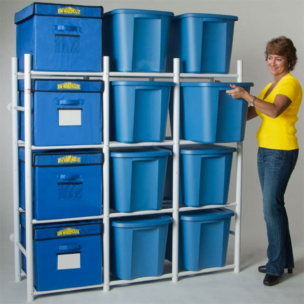 Bin Warehouse Storage System in Garage