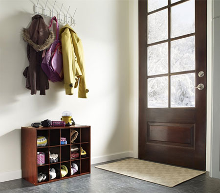 Easy Diy Garage Mudroom For Less Than 60