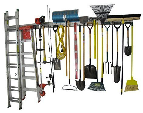 Garage Wall Hanging Storage Rack with Tools