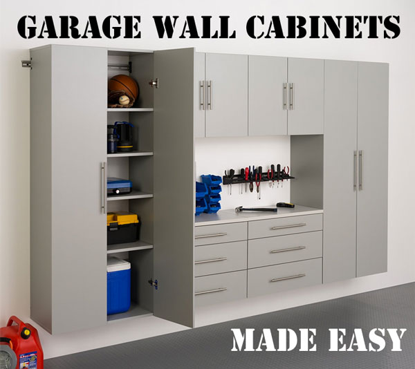 Superbe Garage Wall Cabinets Made Easy
