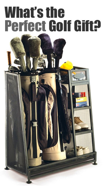 Golf Bag Storage Rack - Store All of Your Golfing Gear, the Perfect Gift