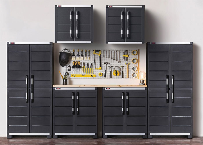 7 Cool Garage Cabinet Ideas That You Can Make