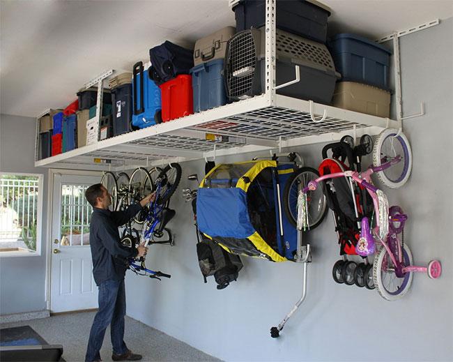 Saferacks Overhead Garage Storage