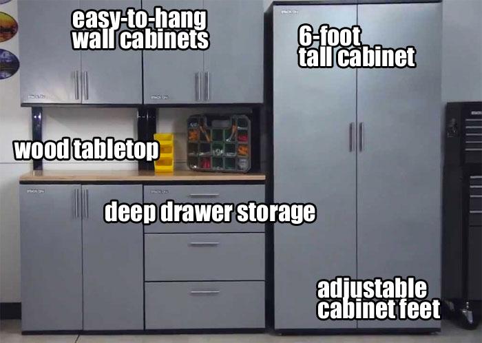 Stack On Garage Cabinets