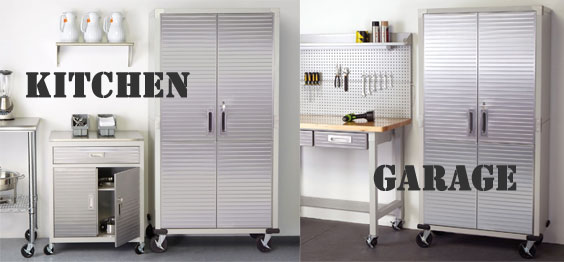 Stainless steel heavy duty rolling cabinet big tall for Tall stainless steel bathroom cabinet